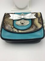 $175 Brighton My Flat In London Turquoise Purse Bn3j