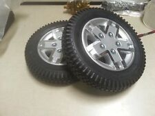 Wheelchair Pr1mo Powertrax 14x3in Silver Rim/Black Tire 5 Spoke WHL133556