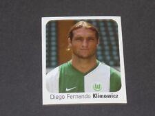 489 KLIMOWICZ VFL WOLFSBURG PANINI FUSSBALL 2006-2007 BUNDESLIGA FOOTBALL