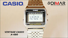 VINTAGE CASIO A-680, QW.203 JAPAN, AÑO 1983