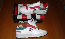 TRAINERS HUMMEL VINTAGE 80s SIZE UK 9 1/2 EU 44.5 ,10 1/2 and 11 1/2.