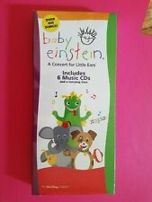 BABY EINSTEIN NIB  Concert For Little Ears 6-CD by Disney with Case