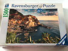 Ravensburger 1500 Piece Jigsaw Puzzle Cinque Terre Italy 162277 Factory Sealed