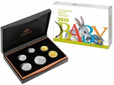 2016 AUSTRALIA BABY PROOF COIN SET - THE ALPHABET SERIES RAM ISSUE  - SCARCE SET