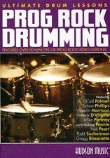 Ultimate Drum Lessons: Progressive Rock Drumming [New DVD]