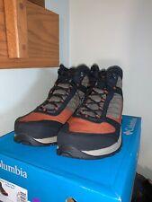 NIB Columbia Men's Terrebonne II Sport Mid Omni-tech Hiking Shoe - Noir - sz 13