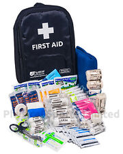 First Aid Kit in Rucksack | Large, All-Weather, Mobile Medical Bag