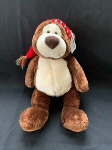Amazon Gund Limited Edition Christmas Bear Red Stocking Cap 2010 3rd Edition