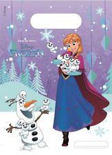 6pk Disney congelato Fiocchi di Neve in Plastica Festa Di Compleanno Bottino Sacchetti regalo