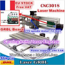 【FR】3 Axis 3018 GRBL Control Mini DIY Laser Machine CNC Milling Wood Router Kit