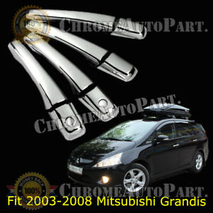 Chrome Door Handle Catch Covers for MITSUBISHI 2002-2006 Lancer Mirage