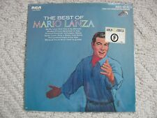 THE BEST OF MARIO LANZA LP LSC-2748 (e) RED SEAL 1964 NEW STILL SEALED