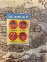 1963 TOPPD REDS PETE ROSE ROOKIE REPRINT CARD# 537