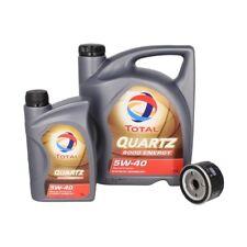OLIO motore con filtro dell'olio Total Quartz 9000 Energy 5w40 5+1l + Uomo W 75/...