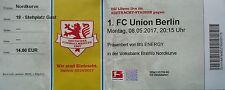 TICKET 2. BL 2016/17 Braunschweig - Union Berlin