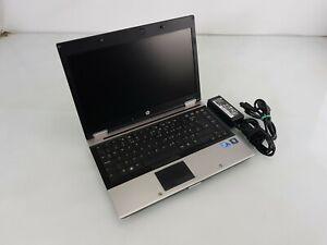 HP EliteBook 8440P 14 in Laptop Core i5 M520 2.40 GHz 4GB 128 GB SSD Win 10 Pro