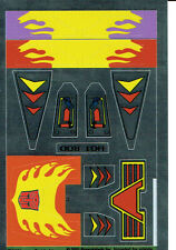 TRANSFORMERS GENERATION 1, G1 AUTOBOT HOT ROD REPRO LABELS / STICKERS