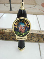 Ephemere Unibroue Beer Tap handle lady with green apples