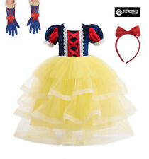 Biancaneve Vestito Carnevale Dress up Princess Snow White Girl Costumes SNOW006