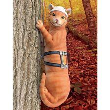 Tabby Cat Tree Climber - TABBY CAT GARDEN DECOR - Cat Garden Decor - Cat Love