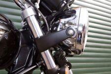 TEC Black Alloy Headlight Brackets Triumph Bonneville Scrambler T100 Thruxton