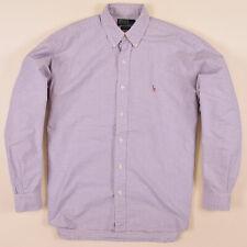 Ralph Lauren Herren Hemd Shirt Gr.M (wie XL) Blake Kariert Mehrfarbig, 72330
