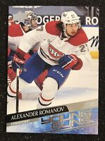 2020-21 UD Upper Deck Series 2 Alexander Romanov  # 455 Young Guns Rookie MINT!!