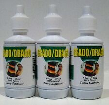 3 SANGRE DE GRADO (DRAGON'S BLOOD) x 30 ml DROPS