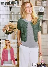 Stylecraft 9383 Knitting Pattern quick and light- Cardigans in Mystique