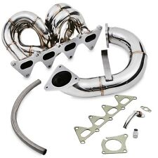 STAINLESS DE CAT TURBO EXHAUST MANIFOLD FOR RENAULT MEGANE MK2 225 MK3 250 RS