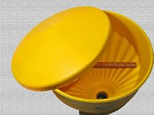 Waste Oil Heater Part HEAVY-DUTY TANK TOP FUNNEL with lid and screen, Large dia.