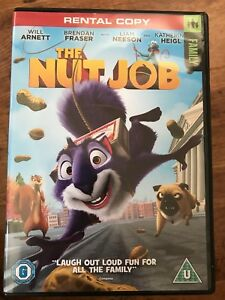 Liam Neeson Will Arnett THE NUT JOB ~ 2014 Animated Family Film | UK DVD