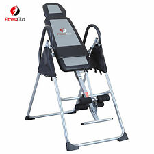 Foldable Fitness Inversion Table Exercise Therapy Chiropractic Back Reflexology