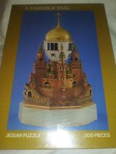 1979 Milton Bradley Sealed Faberge Egg Treasures Of The Kremlin 500 Pc Puzzle