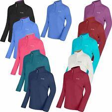 Regatta Womens Anti Pill Micro Fleece Top Contrast Collar Ladies Half Zip Jacket