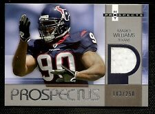 2006 UPPER DECK HOT PROSPECTS MARIO WILLIAMS JERSEY #183/250