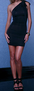 Black Sexy Party Dress Convertible Strapless Halter  ... L