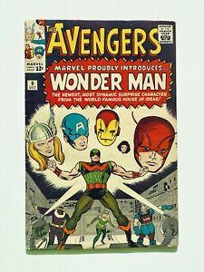 AVENGERS #9 (1964) Beautiful Higher Grade Key! 1st App Wonder Man! Glossy!!