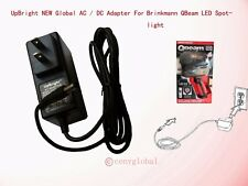 AC Power Adapter For Brinkmann Qbeam LED Night Vision Spotlight Battery Charger