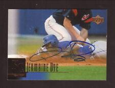 Jermaine Dye Autograph--Kansas City Royals--2001 Upper Deck Baseball Card