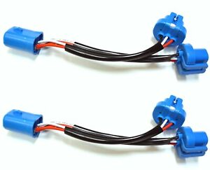 Splitter Wire P 9004 HB1 Two Harness Head Light Adapter Replace Connector Plug