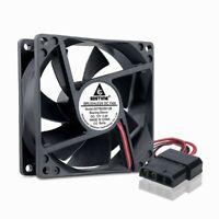 Molex 4Pin 12V 8cm 80mm 25mm 80x80x25mm PC Computer CPU Case Cooling Cooler Fan