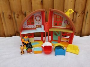 Bing Bunny House Playset Complete With Bing And Flop Figures #2