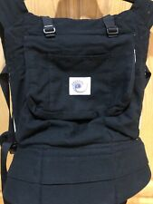 Ergo Baby Carrier Original Black Tan Front Pack- EUC