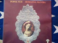 popol vuh-hosianna mantra-megarar orig. pilz kraut/psych monster lp-1973, neuwertig
