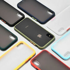 Case For iPhone XR 7 8 Plus 11 12 Pro Max XS Shockproof Hard Back Phone Cover