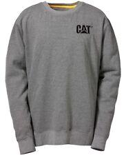 CAT Caterpillar LOGO Tripulante Sudadera Resistente Trabajo Hombre Suéter