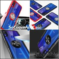 Etui coque housse magnétique Haute Protection Ring case Xiaomi Redmi 7, Note 7