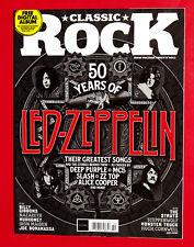 Classic Rock Magazine UK October 2018 - 50 YEARS OF LED ZEPPELIN - ZZ TOP