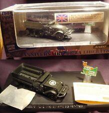 Solido 1:50 M3 Half-Track REME Wksp 8th Armd Bde 50th Ann 4494/61 Retired.